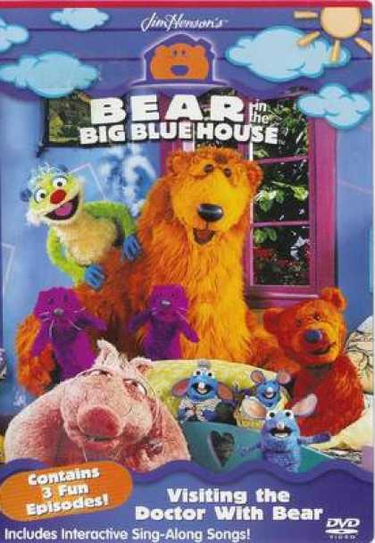 TV Series - Bear In The Big Blue House - Visiting The Doct