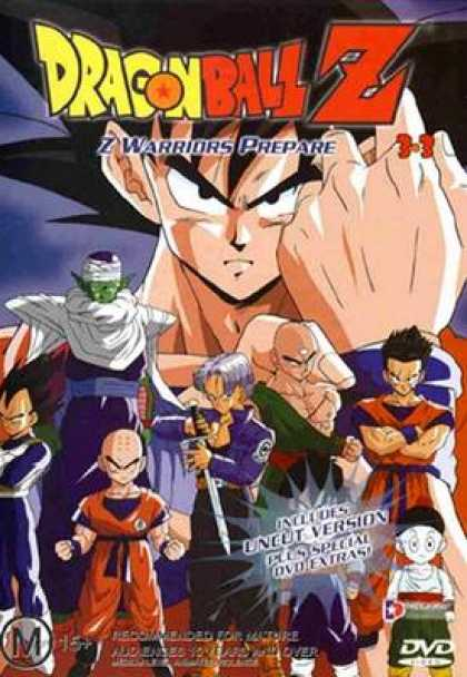 TV Series - Dragonball Z - Z Warriors Prepare
