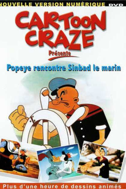 TV Series - Cartoon Craze - Popeye Rencontre Sinbad Le Mar