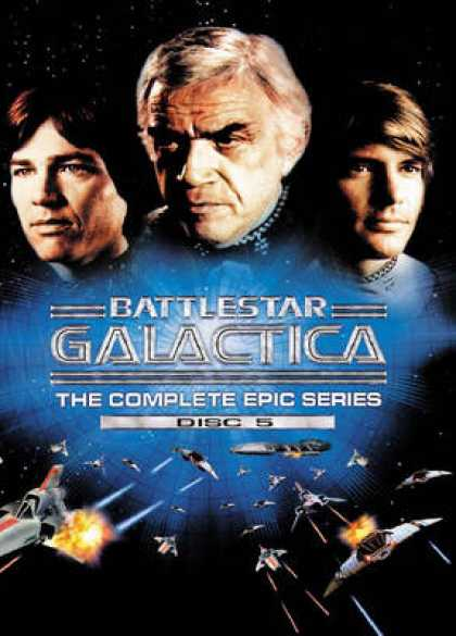 TV Series - Battlestar Galactica: The Complete Epic Series