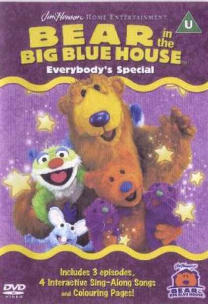 TV Series - Bear In The Big Blue House - Everybodies Speci
