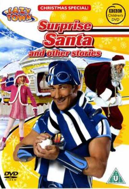 TV Series - Lazytown Surprse Santa And Other Stories Chris