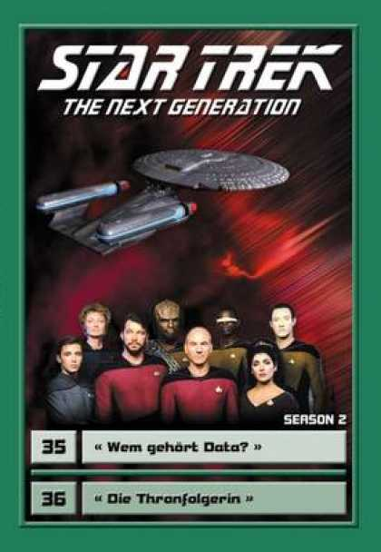 TV Series - Star Trek - The Next Generation - Staffel 2 Fo