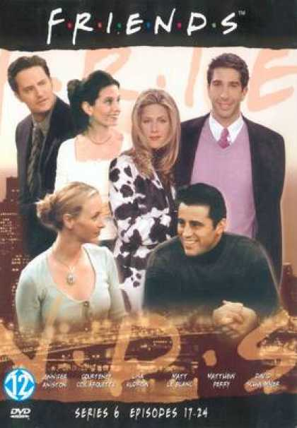 TV Series - Friends Episodes 17-24