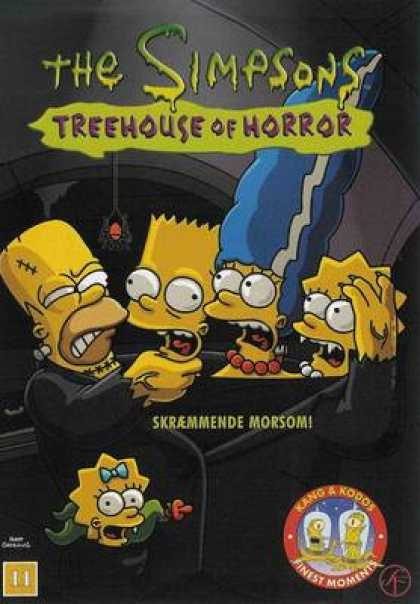 TV Series - The Simpsons Treehouse Of Horror Danish