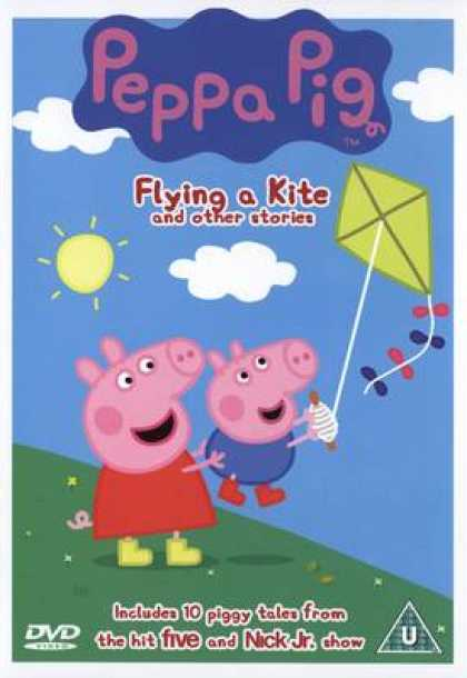 TV Series - Peppa Pig Flying A Kite And Other Stories