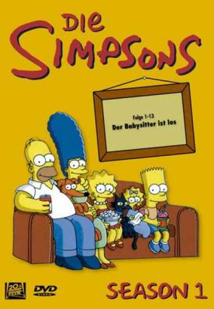 TV Series - Simpsons - Staffel 1 - Folge