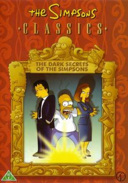 TV Series - The Simpsons Classics The Dark Secrets Of The
