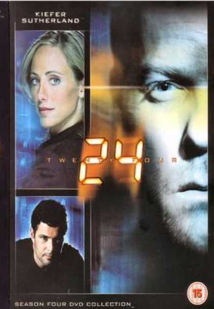 TV Series - 24 Dvd Cover
