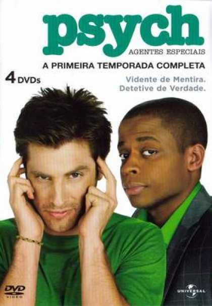 TV Series - Psych BRAZILIAN