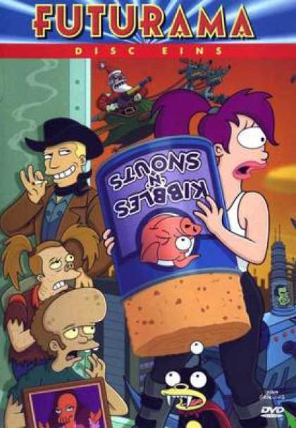 TV Series - Futurama - Disc Eins