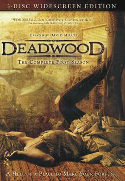 TV Series - Deadwood WS 3 Disc