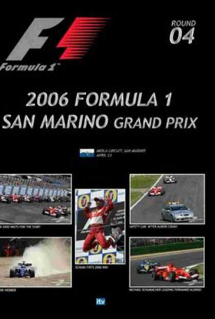 TV Series - Formula 1 - 2006 San Marino Grand Prix Thin
