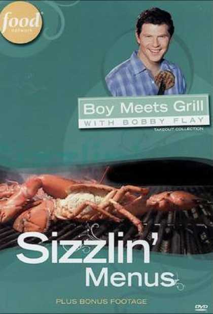 TV Series - Boy Meets Grill With Bobby Flay - Sizzlin' Men
