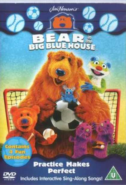 TV Series - Bear In The Big Blue House - Practice Makes Pe