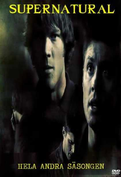 TV Series - Supernatural & 2 SWEDISH