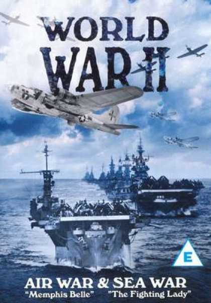 TV Series - World War II - Air War & Sea War