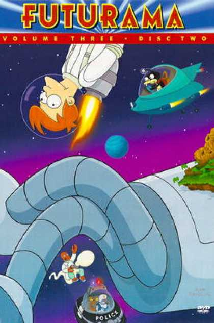 TV Series - Futurama: (2001/02)