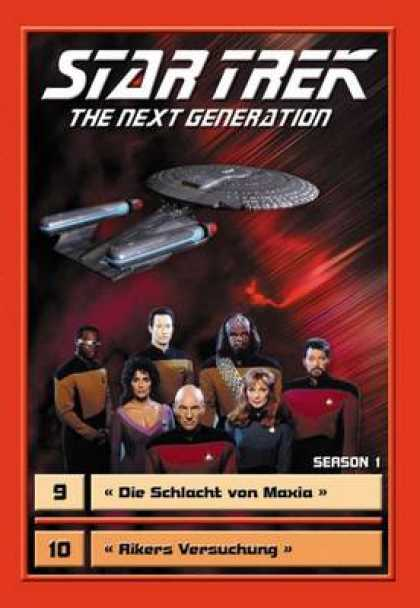 TV Series - Star Trek - The Next Generation - Staffel 1 Fo