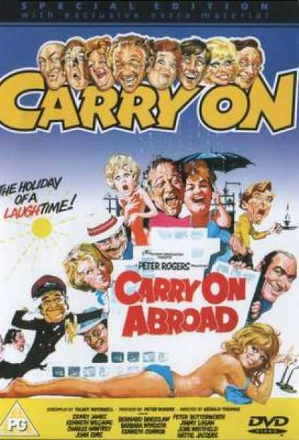 TV Series - Carry On - Carry On Abroad Thinpack
