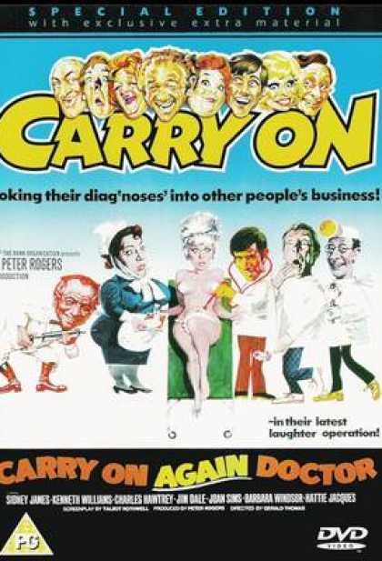 TV Series - Carry On - Carry On Again Doctor Thinpack
