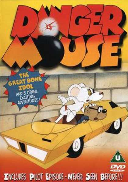 TV Series - Danger Mouse- The Great Bone Idol