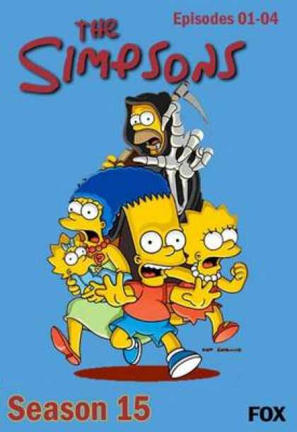 TV Series - The Simpsons 5 Episodes 1
