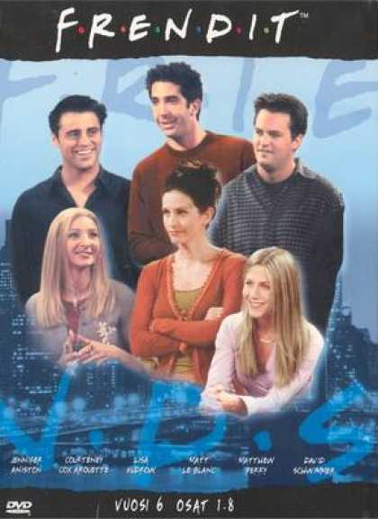 TV Series - Friends Episodes 1 - 8 Finnish