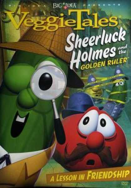 TV Series - Veggie Tales Sheerluck Holmes And The Goldern