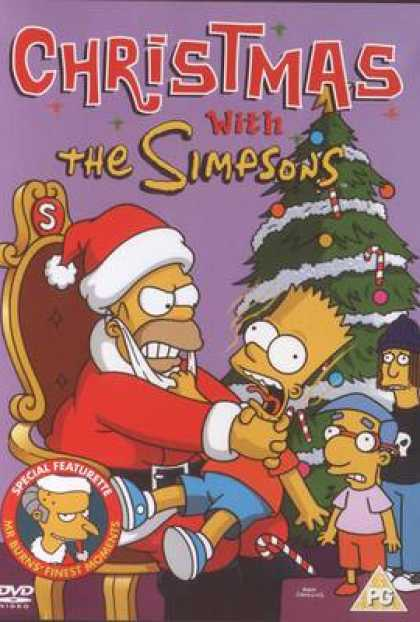 TV Series - Christmas With The Simpsons