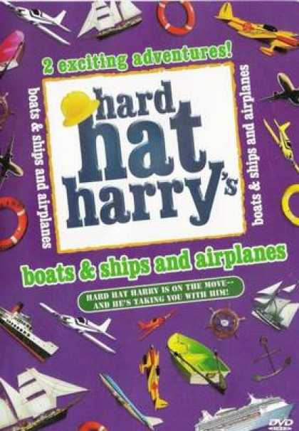 TV Series - Hard Hat Harrys- Boats Ships And Airplanes