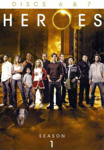 TV Series - Heroes: Discs 6 & 7 (2007) UNRATED