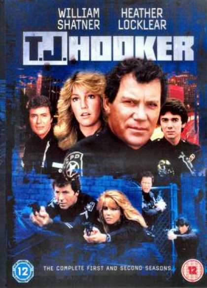 TV Series - T J Hooker The Complete First And Second Seaso