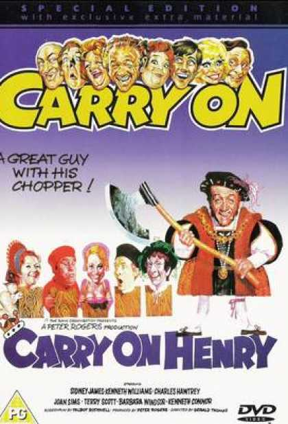 TV Series - Carry On - Carry On Henry Thinpack