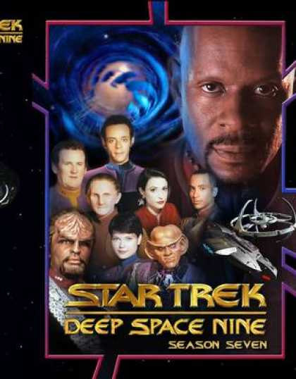 TV Series - Star Trek Deep Space 9 The Complete Seventh Se