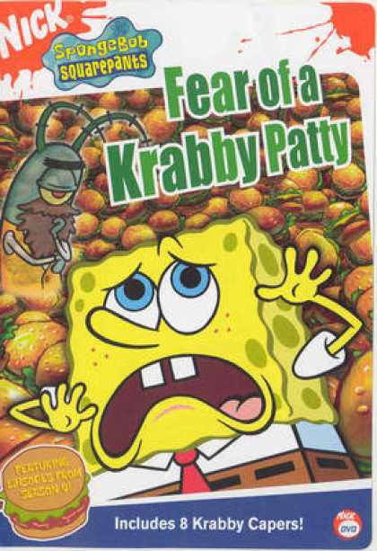 TV Series - Spongebob Squarepants - Fear Of A Crabby Patty