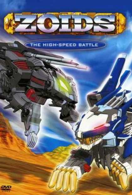 TV Series - Zoids - The High-Speed Battle Thinpack