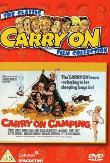 TV Series - Carry On - Carry On Camping Thinpack