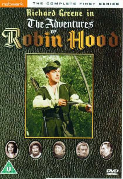 TV Series - The Adventures Of Robin Hood: The Complete Fir