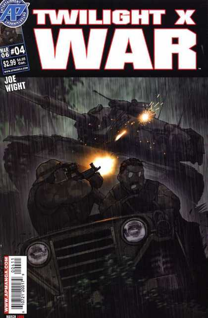 Twilight X War 4 - Tank - Jeep - Machine Gun - Soldiers - Battles