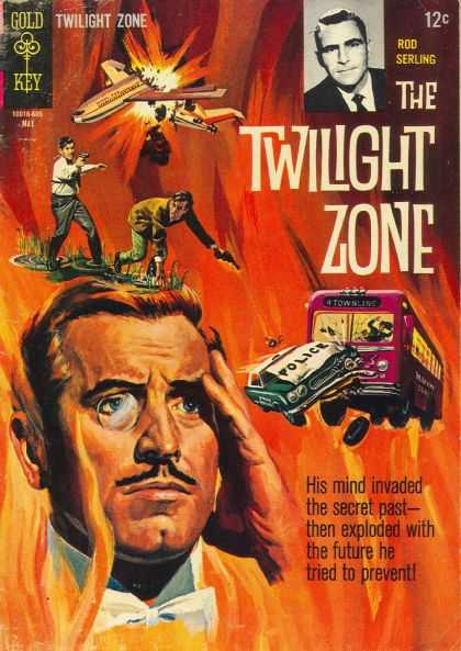 Twilight Zone 15 - Rod Serling - His Mind Invaded The Secret Past -- - Then Exploded With Future - He Tried To Prevent - Police Car
