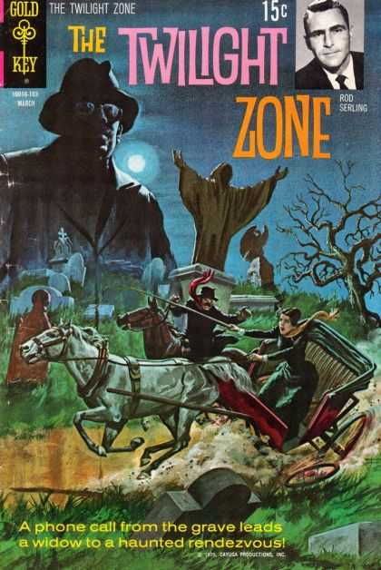 Twilight Zone 36 - Rod Serling - Graveyard - Stagecoach - Horses - Crooked Tree