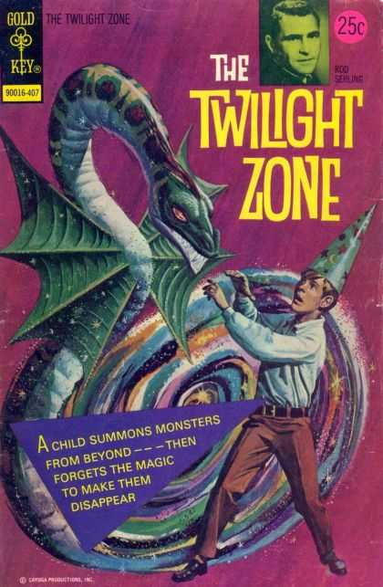 Twilight Zone 57 - Dragon - Monster - Boy - Gold Key - The Twilight Zone