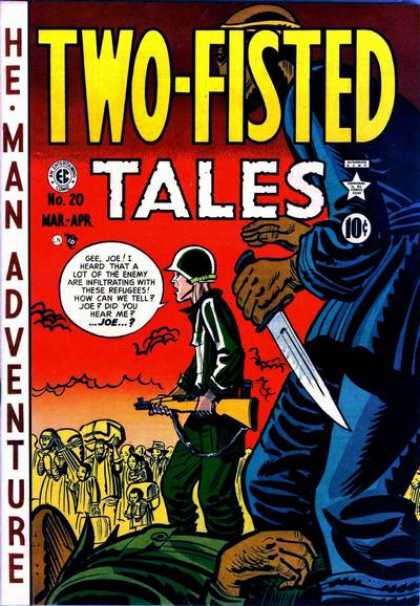 Two-Fisted Tales 20 - Refugee - Soldier - Fight - Enemy - Country - Harvey Kurtzman