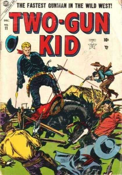 Two-Gun Kid 11 - Gunplay - Quick - Western - Boy - Best