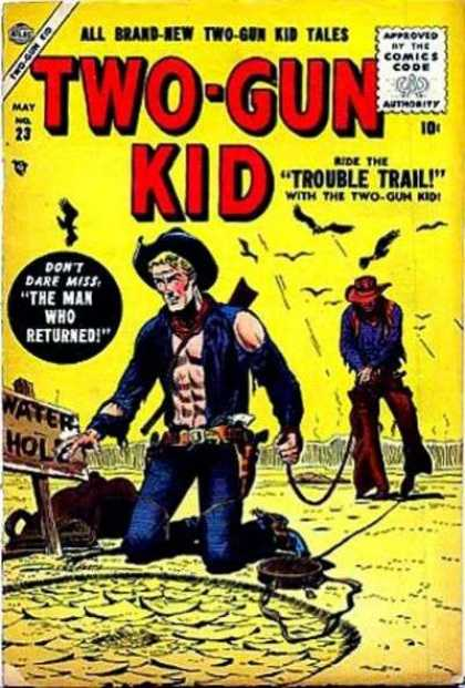 Two-Gun Kid 23 - All Brand-new - Approved By The Comics Code - Two-gun - Tales - Cowboy