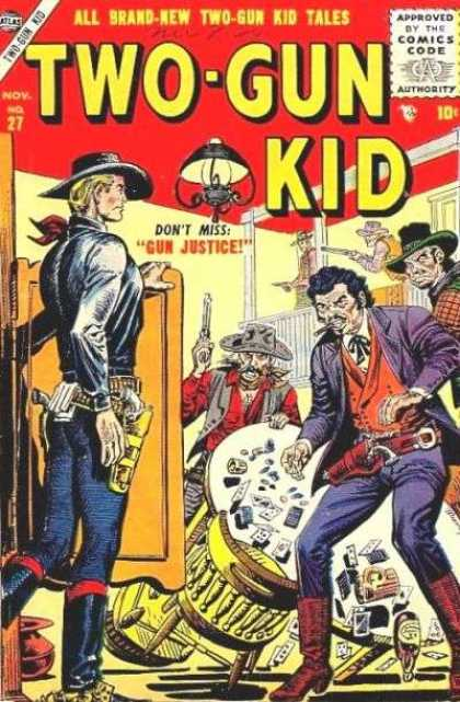 Two-Gun Kid 27 - Gun Justice - Two-gun Kid Tales - Gambling - Wild West - Shootout