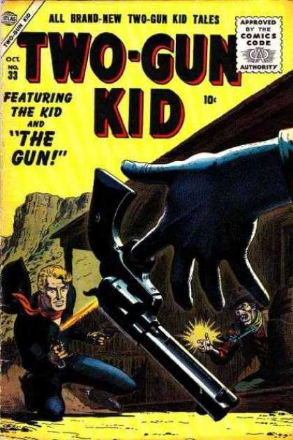 Two-Gun Kid 33 - Gun - Shootout - Duel - Cowboy - Featuring The Kid And The Gun