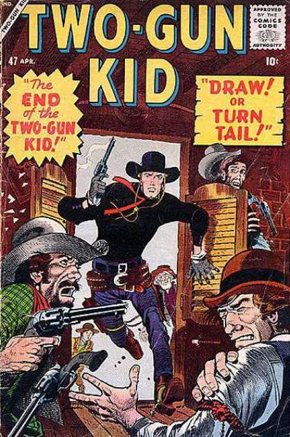 Two-Gun Kid 47 - Cowboys - Guns - Salon - Spurs - Cowboy Boots