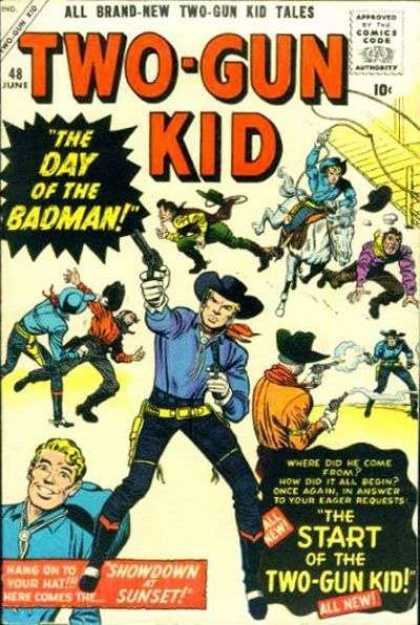 Two-Gun Kid 48 - Two Gun - Badman - Western - Wild West - Shooting